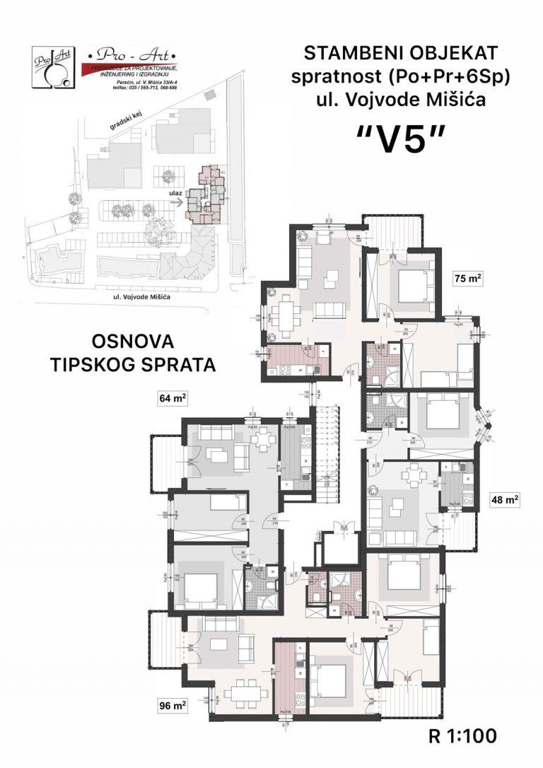 Prodaja stanova V5